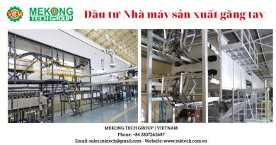 Đầu tư nhà máy sản xuất găng tay