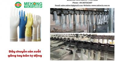 Máy sản xuất găng tay bán tự động