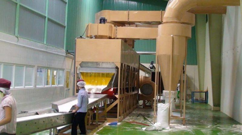 dây chuyền sản xuất cơm dừa sấy khô