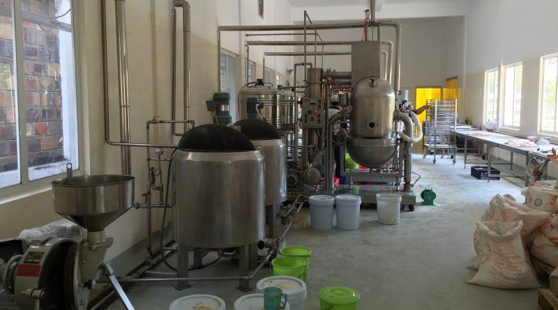 Dây chuyền sản xuất kẹo